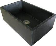 Barroca Soapstone Single Bowl Sink