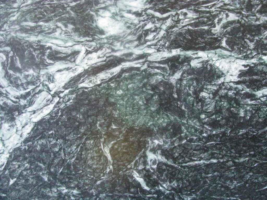 Monsoon Wave Soapstone from India - shown oiled