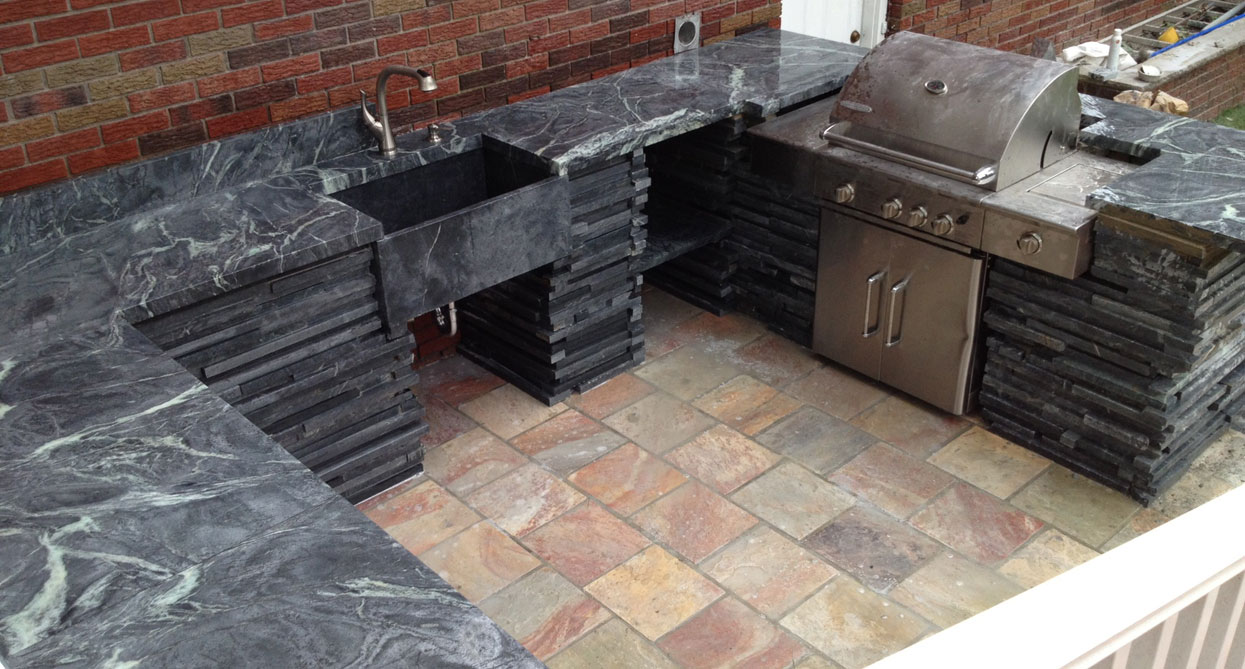 Soapstone Countertops For Outdoor Kitchens