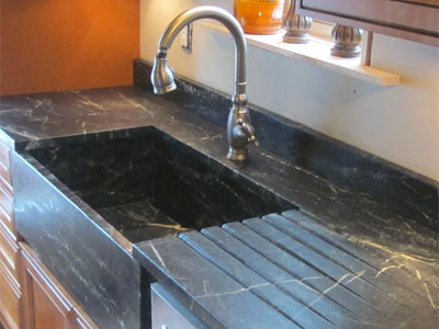 Current bathroom colors - Remnant Soapstone Countertops And Sinks Discounted
