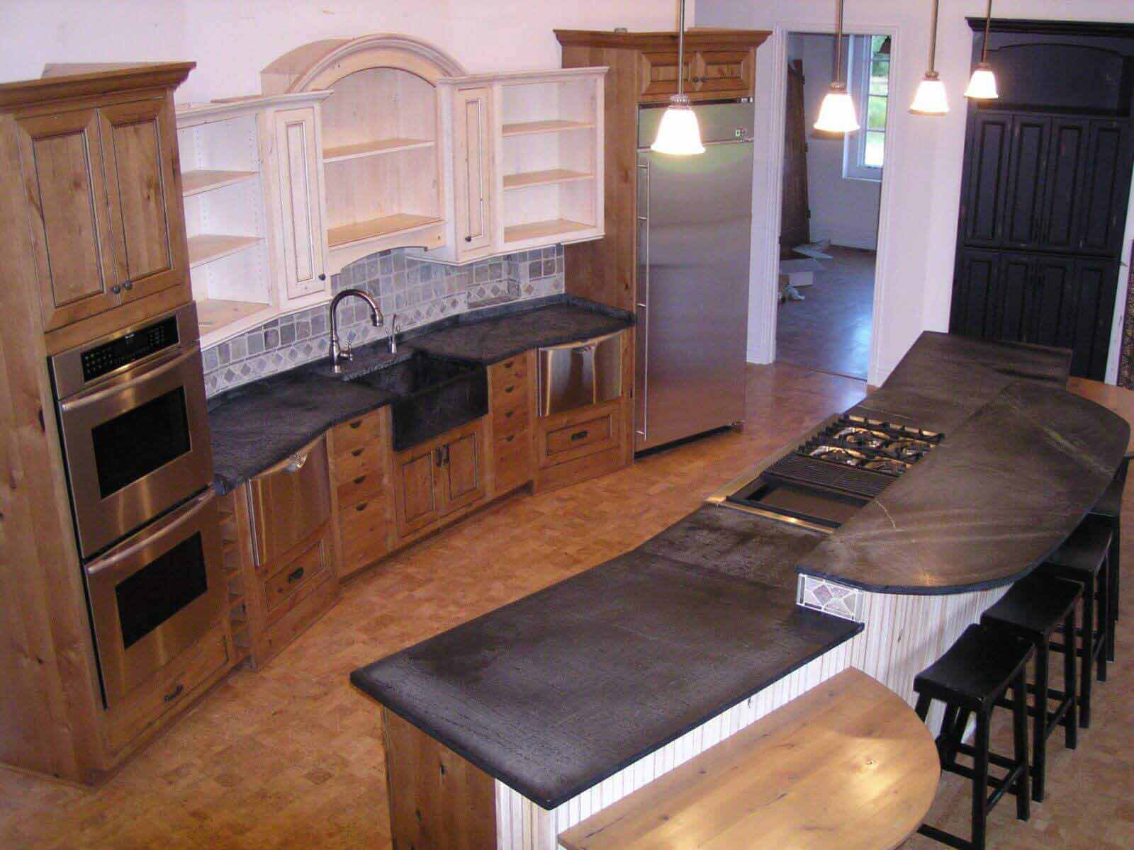 countertop soapstone decorating home decor countertops modern white affordable