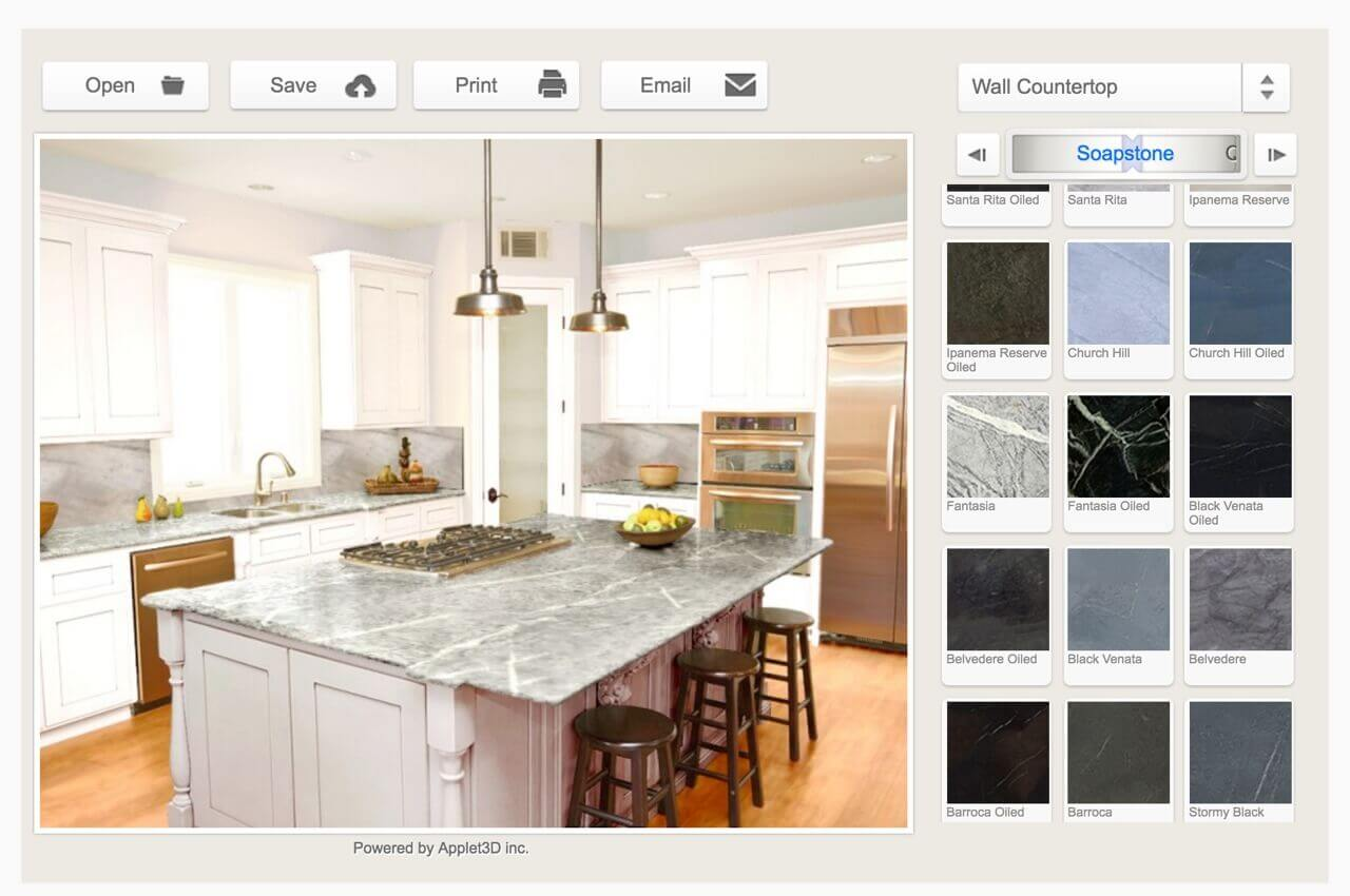 Soapstone Kitchen Visualizer