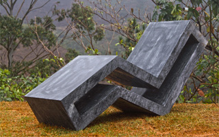 Make a Statement with Soapstone Outdoor Furniture