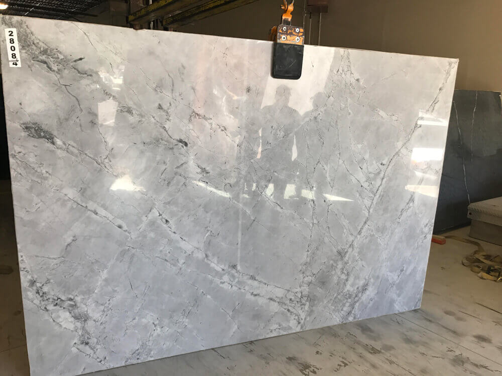 Just Arrived In Denver! Super White Quartzite And Belvedere Soapstone